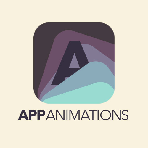 app animations logo