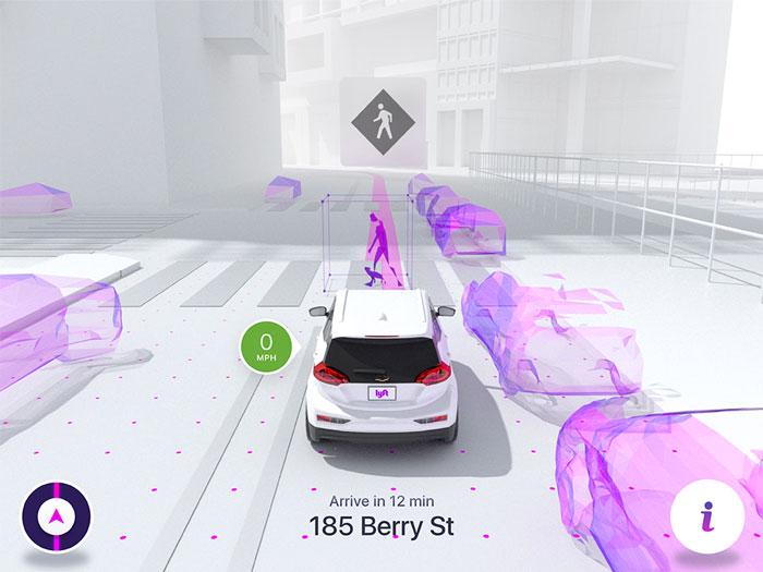 lyft autonomous vision 4
